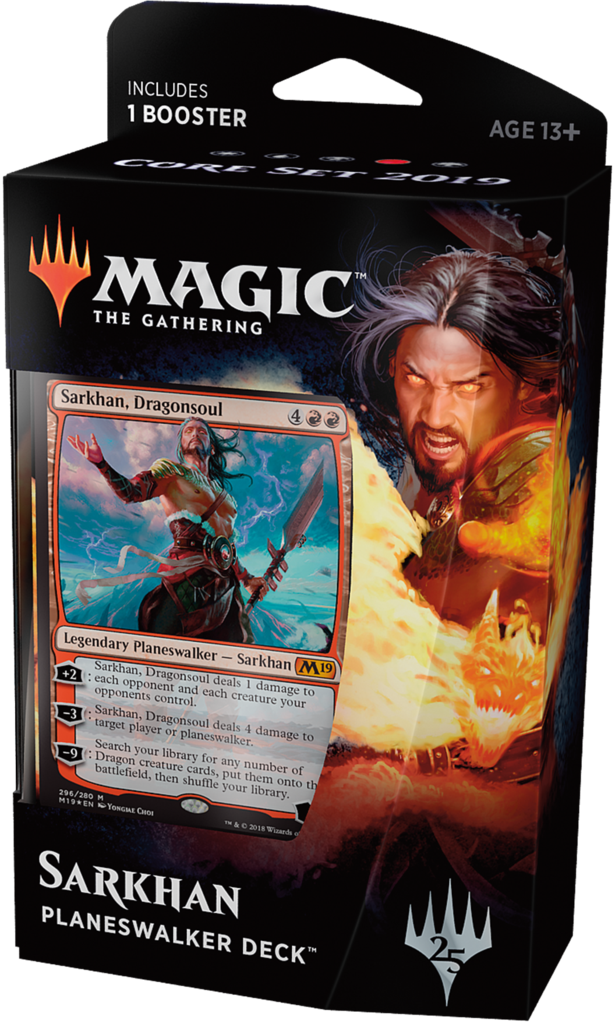 Magic The Gathering: Core 2019 Planeswalker Deck - Sarkhan