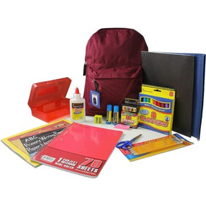 "Marc Gold Primary Kit 15"" Pre-filled Backpack"