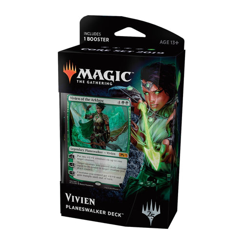 Magic The Gathering: Core 2019 Planeswalker Deck - Vivien