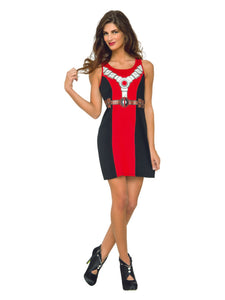 Marvel Classic Deadpool Tank Dress, Medium