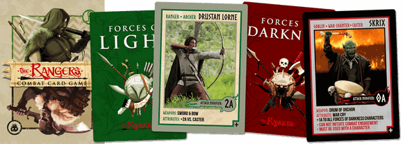 The Rangers Combat Card Game