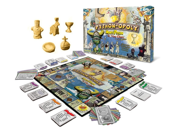 Python-Opoly Board Game - Version 2