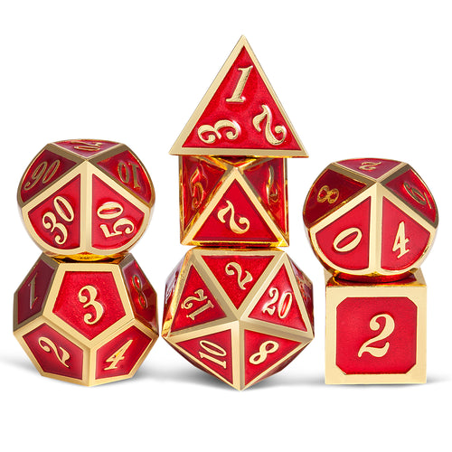 Metal Dice: Series 1 - Phoenix Rising