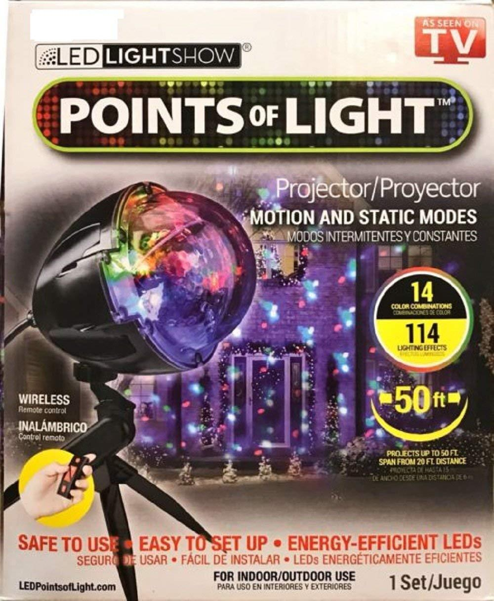 LED Lightshow Points of Light Kaleidoscope Spotlight