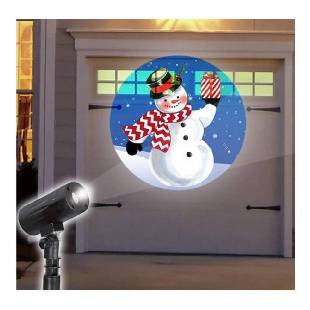 EZ Illuminations Holiday Projector - Snowman