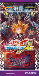Future Card Buddyfight CCG: Booster Pack - Violence Vanity Climax