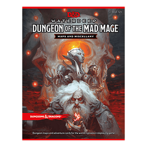 Dungeons And Dragons RPG: Waterdeep - Dungeon of the Mad Mage - Maps and Miscellany