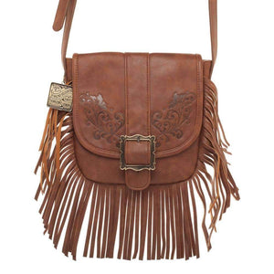 "Westworld Dolores ""Saddle Bag"" Fringe Handbag"