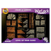 Load image into Gallery viewer, WarLock Tiles: Stairs & Ladders