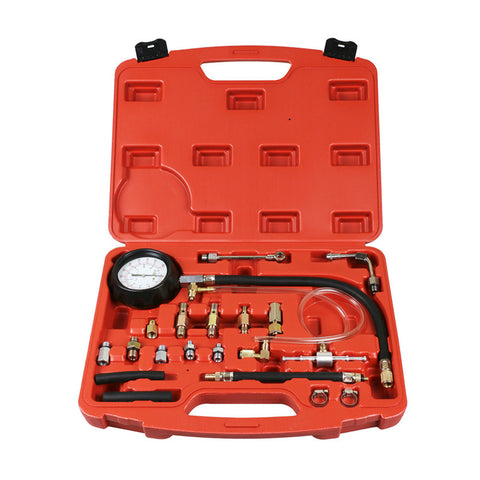 Fuel Pressure Gauge Pump Tester Kit
