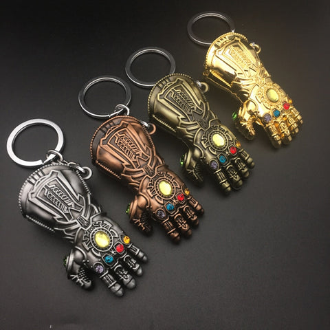 Thanos glove key chain