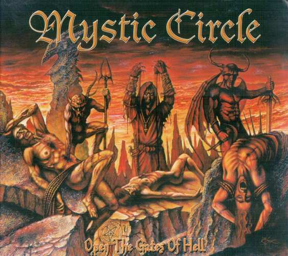 Mystic Circle-Open the Gates of Hell (CD)