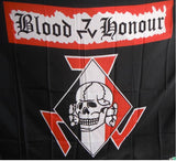 (0) Blood And Honor Death Head Skull (FLAG)