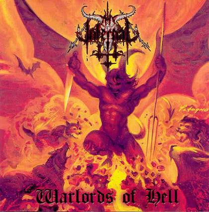 Thy Infernal-Warlords of Hell (CD)