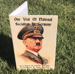 (0) Adolf Hitler-One Year Of National Socialism In Germany (BOOK)