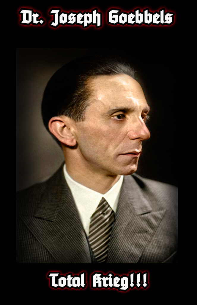 (0) Dr. Joseph Goebbels'-Total Krieg Speech (BOOK)