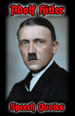 (0) Adolf Hitler-Speech Quotes (BOOK)