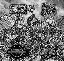 Allfather / Nebron / Hordes Of The Lunar Eclipse - Lead Us Into War and Final Glory (CD)