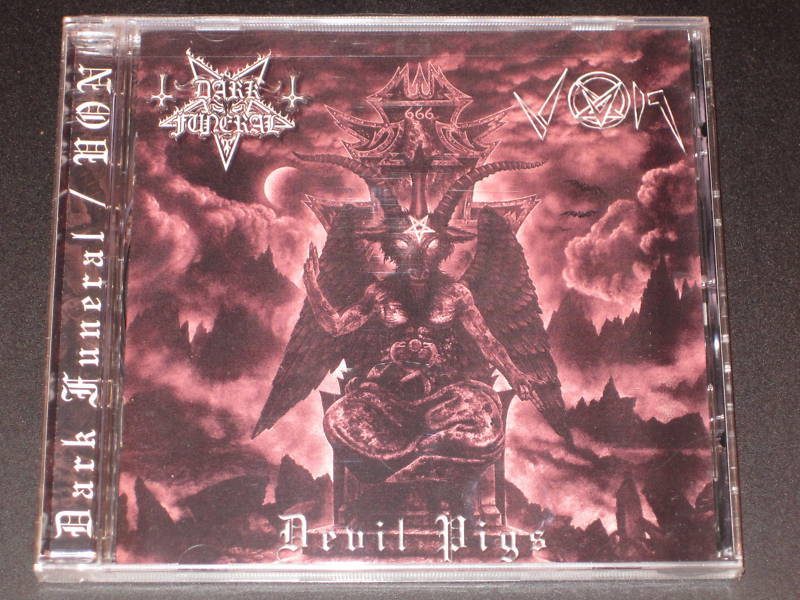 Dark Funeral/VON-Devil Pigs (CD)