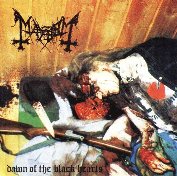 Mayhem (Nor) - Dawn of the Black Hearts A5 (CD)
