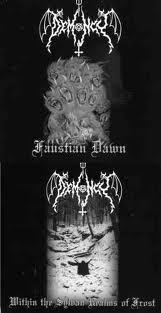 DEMONCY - FAUSTIAN DAWN / WITHIN THE SYLVAN REALMS OF FROST (CD)