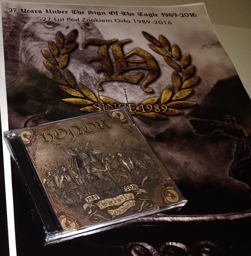 Honor-27 Years Under The Sign Of The Eagle 1989-2016 (CD)