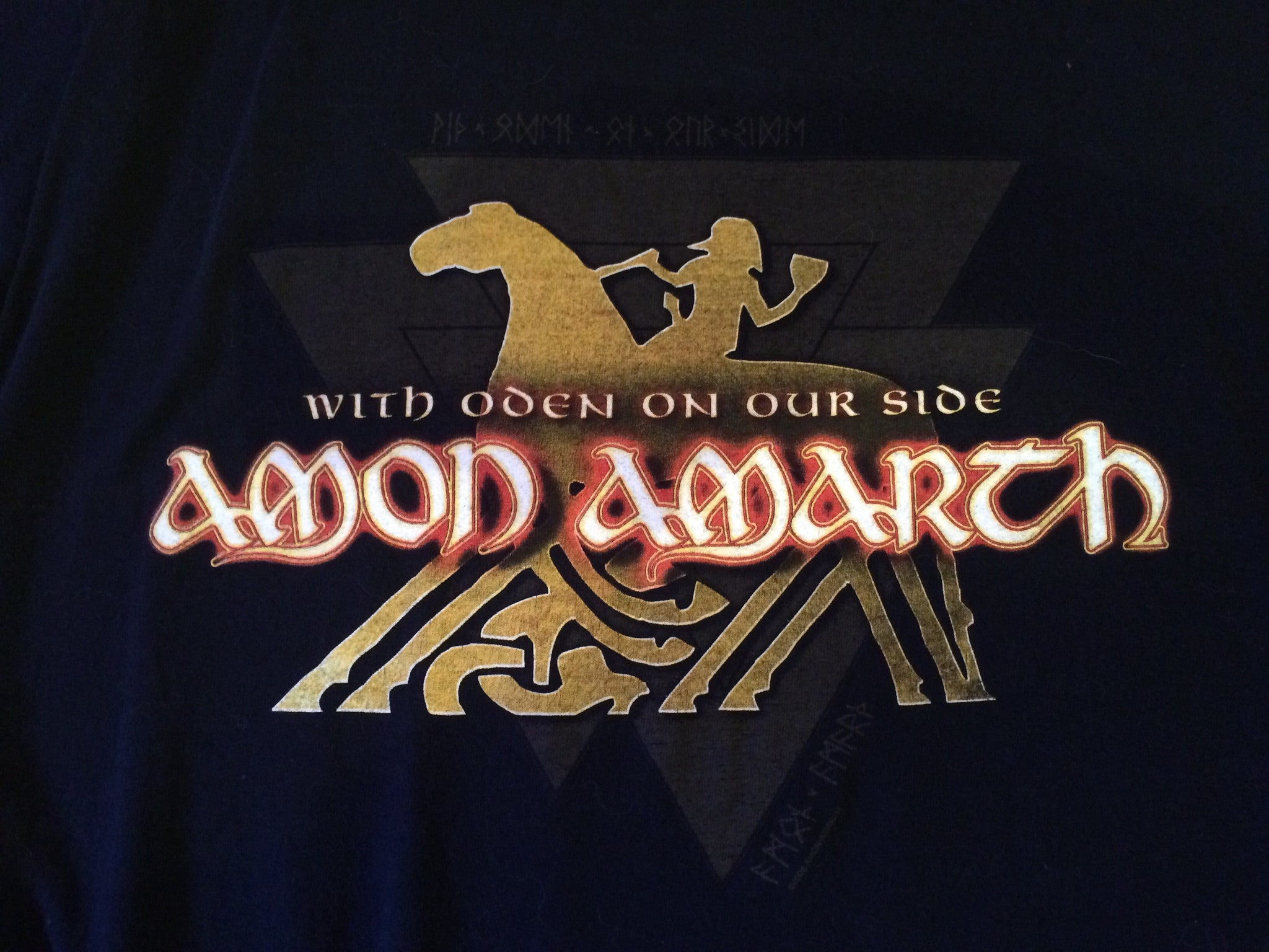 Amon Amarth-With Oden On Our Side (Large Shirt)