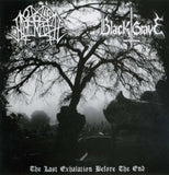 Black Grave / Nocturnal Amentia-The Last Exhalation Before The End (CD)