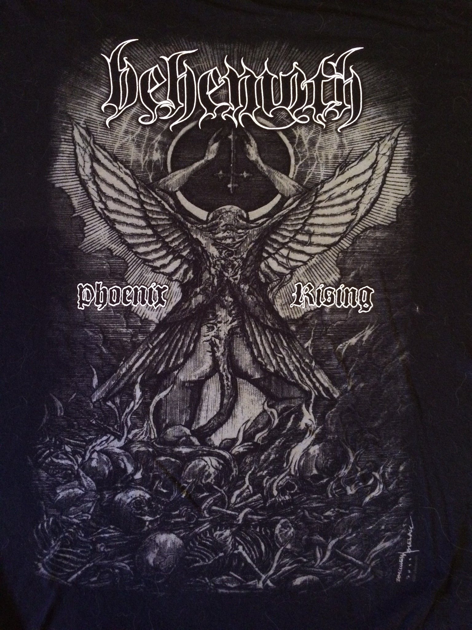 Behemoth-Phoenix Rising (Large Shirt)