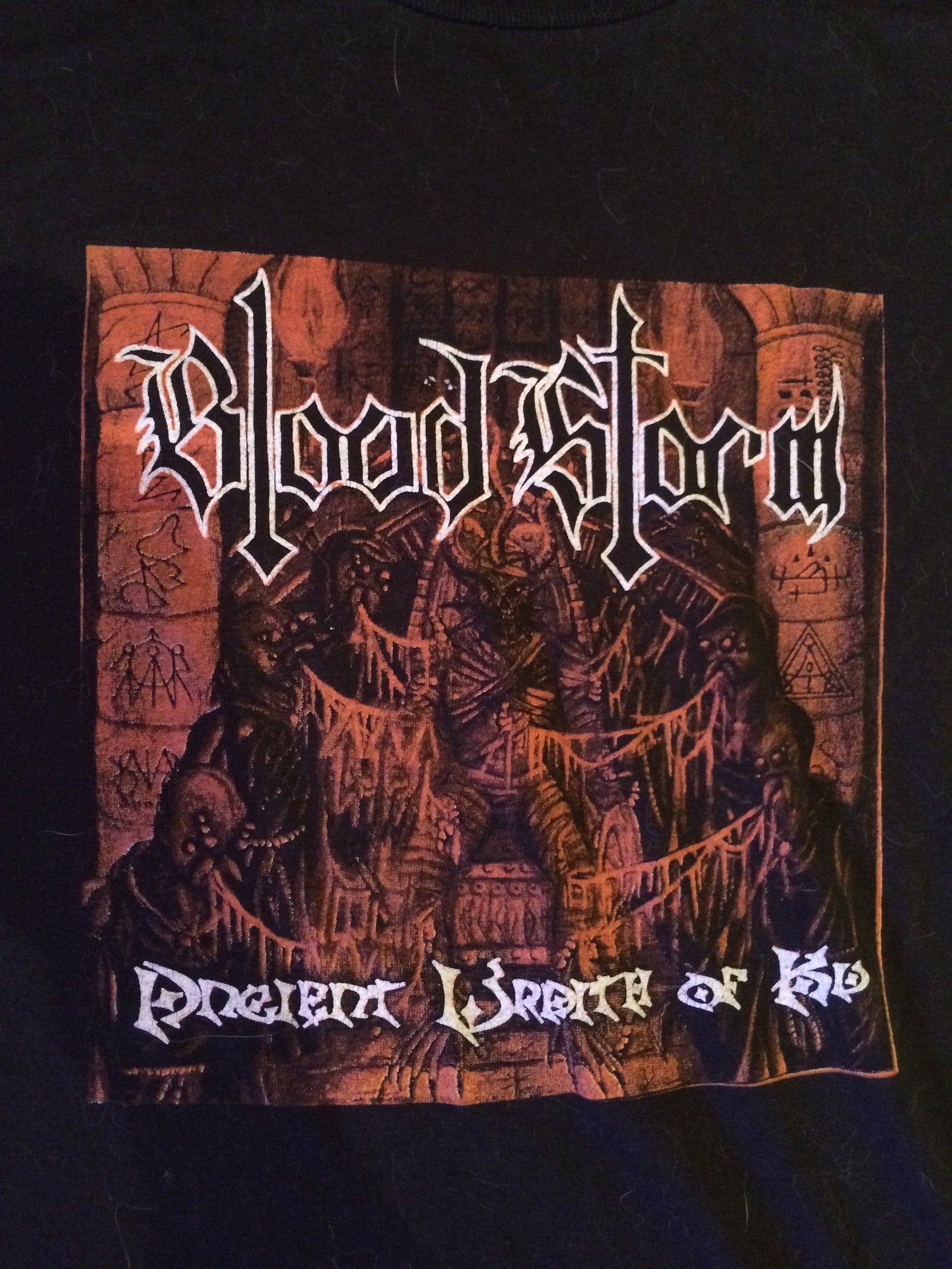 Blood Storm-Ancient Wrath Of Ku (LARGE SHIRT)
