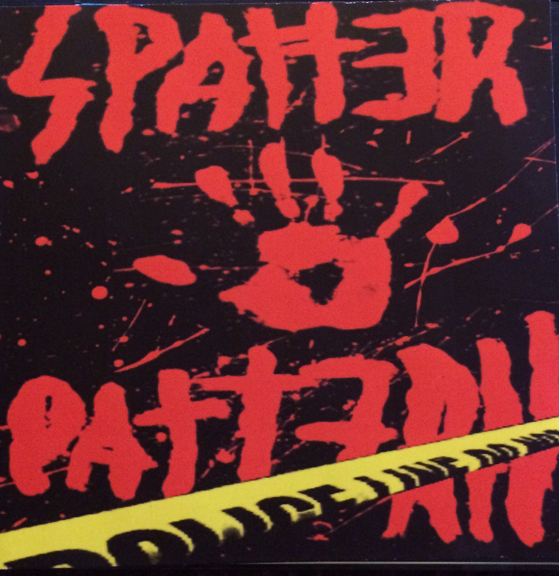 Spatter Pattern-Police Line, Do Not Cros... (CD)