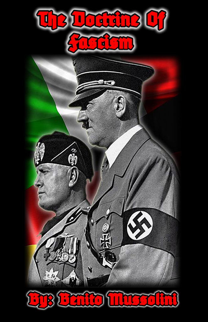 (0) Benito Mussolini-The Doctrine Of Fascism (BOOK)