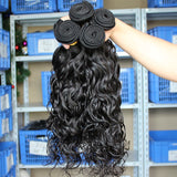 Brazilian Natural Wave Hair 4 Bundles