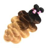 Ombre Brazilian Body Wave Hair 3 Bundles