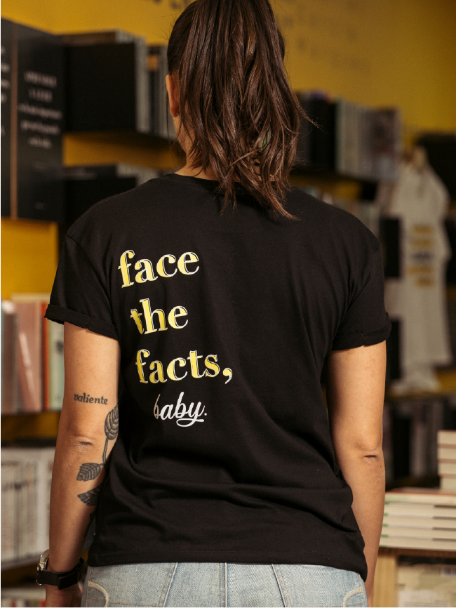 Camiseta Facts Mujer Ropa