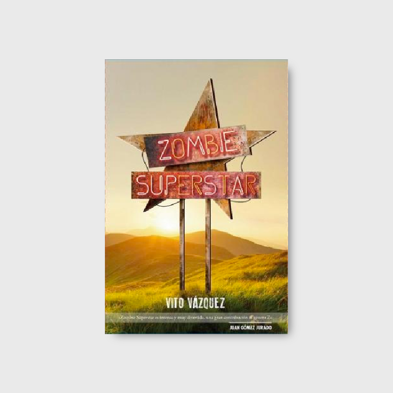Zombie Superstar Libro
