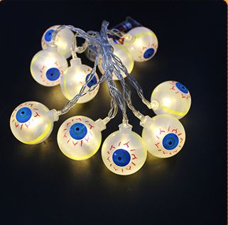 10 LED Decor Halloween Pumpkins Others - shop in usa - canada - UK - Spain - France - Germany - Netherlands - Sweden - E Four colors 1.2M