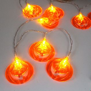 10 LED Decor Halloween Pumpkins Others - shop in usa - canada - UK - Spain - France - Germany - Netherlands - Sweden - H White 1.2M