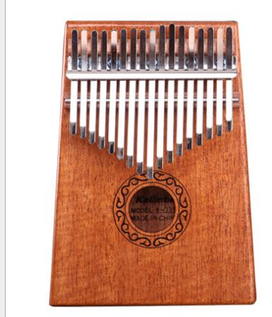 17Key Kalimba Mbira Sanza Finger Thumb Piano Toys, Kids & Baby / Toys & Hobbies / Action & Toy Figures - shop in usa - canada - UK - Spain - France - Germany - Netherlands - Sweden - Brown