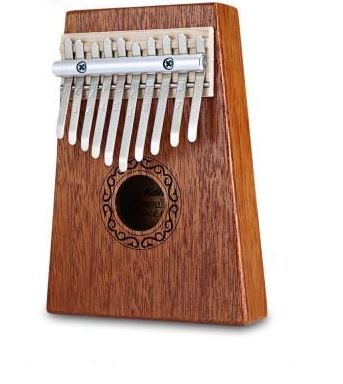 17Key Kalimba Mbira Sanza Finger Thumb Piano Toys, Kids & Baby / Toys & Hobbies / Action & Toy Figures - shop in usa - canada - UK - Spain - France - Germany - Netherlands - Sweden - Brown 10 keys