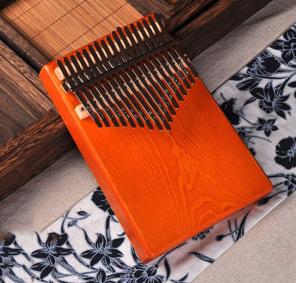 17Key Kalimba Mbira Sanza Finger Thumb Piano Toys, Kids & Baby / Toys & Hobbies / Action & Toy Figures - shop in usa - canada - UK - Spain - France - Germany - Netherlands - Sweden - No hole