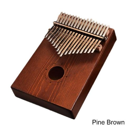 17Key Kalimba Mbira Sanza Finger Thumb Piano Toys, Kids & Baby / Toys & Hobbies / Action & Toy Figures - shop in usa - canada - UK - Spain - France - Germany - Netherlands - Sweden - Pine brown