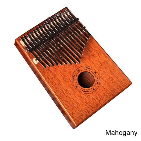 17Key Kalimba Mbira Sanza Finger Thumb Piano Toys, Kids & Baby / Toys & Hobbies / Action & Toy Figures - shop in usa - canada - UK - Spain - France - Germany - Netherlands - Sweden - Mahogany