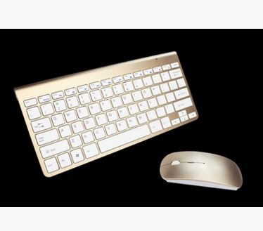 2.4Ghz Ultra-Thin Wireless Keyboard with Mouse Combo Computer & Office / Tablet & Laptop Accessories / Tablet Accessories - shop in usa - canada - UK - Spain - France - Germany - Netherlands - Sweden - Sliver