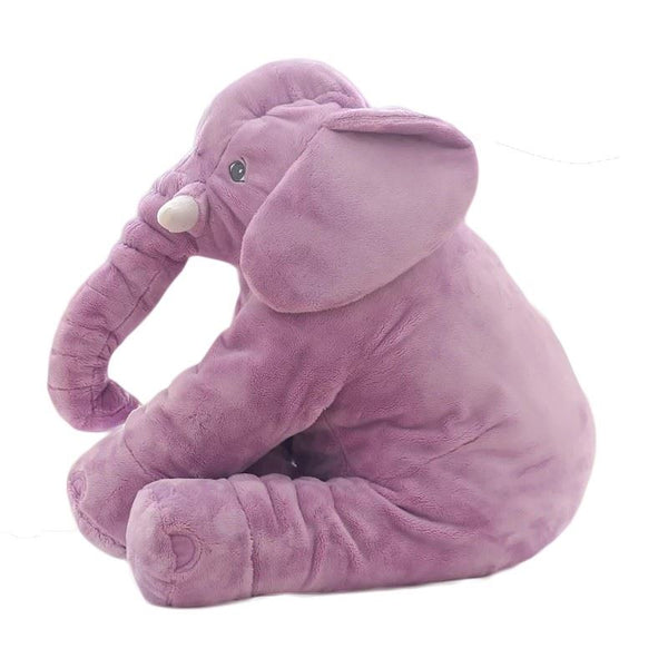 60cm Colorful Elephant Stuffed Animals Plush Toy Toys, Kids & Baby/Toys & Hobbies/Stuffed & Plush Animals - shop in usa - canada - UK - Spain - France - Germany - Netherlands - Sweden - Purple2