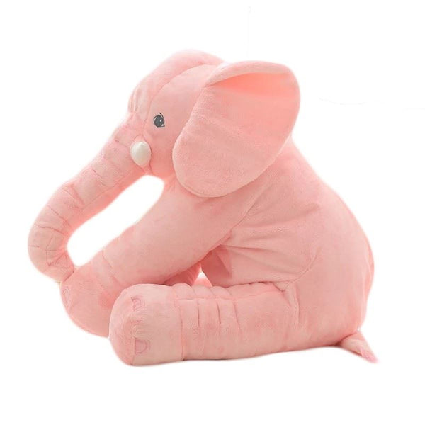 60cm Colorful Elephant Stuffed Animals Plush Toy Toys, Kids & Baby/Toys & Hobbies/Stuffed & Plush Animals - shop in usa - canada - UK - Spain - France - Germany - Netherlands - Sweden - Pink2