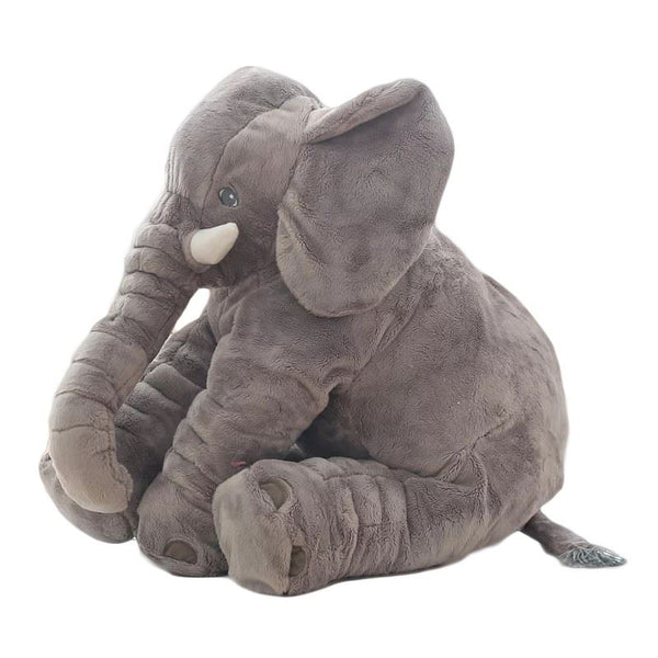 60cm Colorful Elephant Stuffed Animals Plush Toy Toys, Kids & Baby/Toys & Hobbies/Stuffed & Plush Animals - shop in usa - canada - UK - Spain - France - Germany - Netherlands - Sweden - Gray1