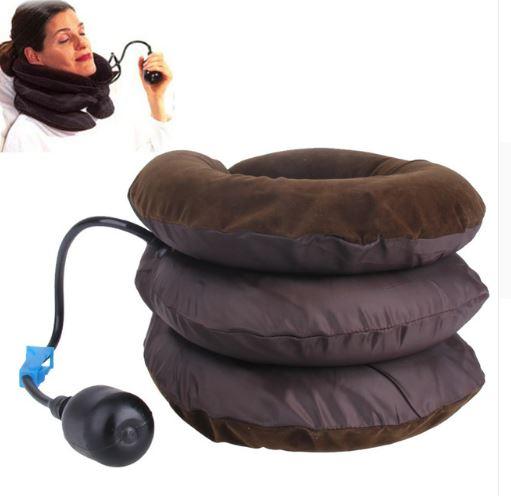 Air Cervical Soft Neck Brace Device Health & Beauty, Hair / Beauty Tools / Massage & Relaxation - shop in usa - canada - UK - Spain - France - Germany - Netherlands - Sweden - Coffer