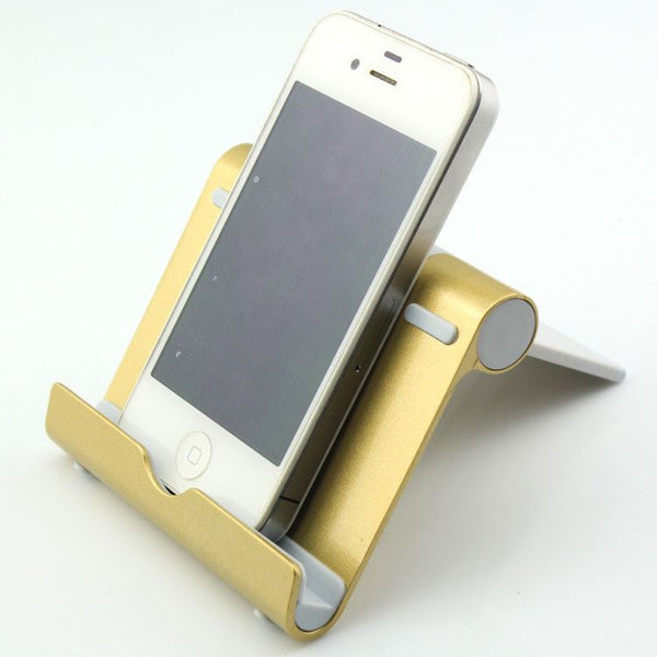Aluminum Bracket For Phone Tablet PC Computer & Office / Tablet & Laptop Accessories / Tablet Accessories - shop in usa - canada - UK - Spain - France - Germany - Netherlands - Sweden - Golden