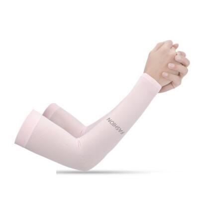 Anti-UV Ice Silk Gloves Sports & Outdoors / Cycling / Cycling Jerseys - shop in usa - canada - UK - Spain - France - Germany - Netherlands - Sweden - No Fingers pink Onesize Q1pcs